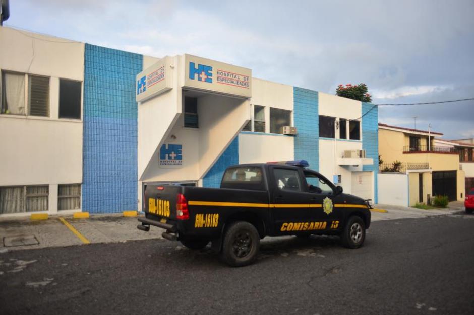 Este es el Hospital en la zona 4 de Mixco que recibirá a Roxana Baldetti esta noche. (Foto: Jesús Alfonso/Soy502)