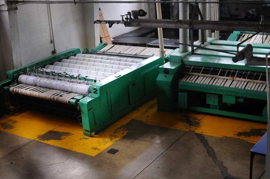La maquinaria no recibe mantenimiento. (Foto: Alejandro Balán/Soy502)