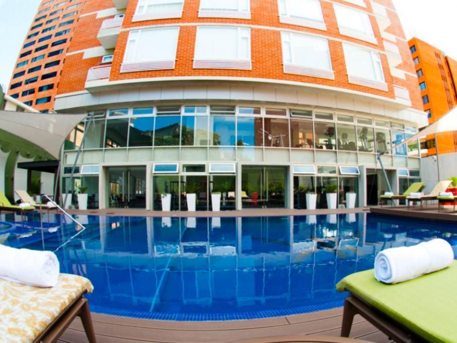 El Presidente Jimmy Morales se hospedó en ese hotel durante la campaña política. (Foto: Adriatika Hotel Boutique/Facebook)