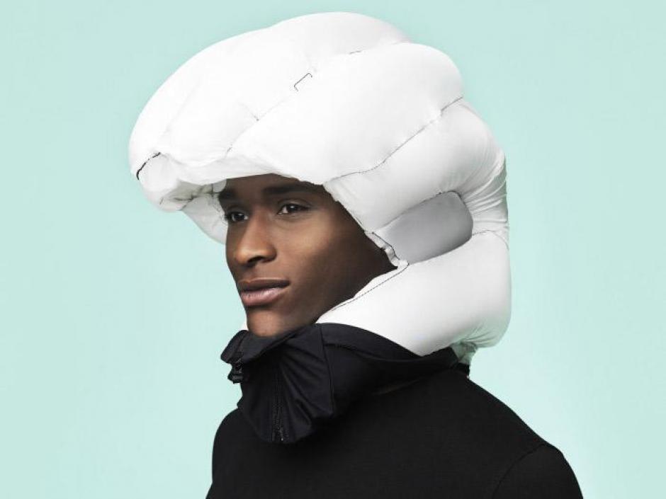 """El """"Hövding"""" es un casco que promete ser la solución para todos los ciclistas del mundo."""