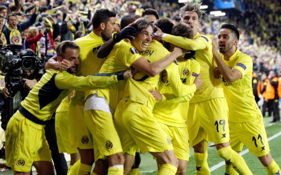 Adrián López anotó al minuto 90+2 el gol de la ventaja para el Villarreal. (Foto: elmundo.com)