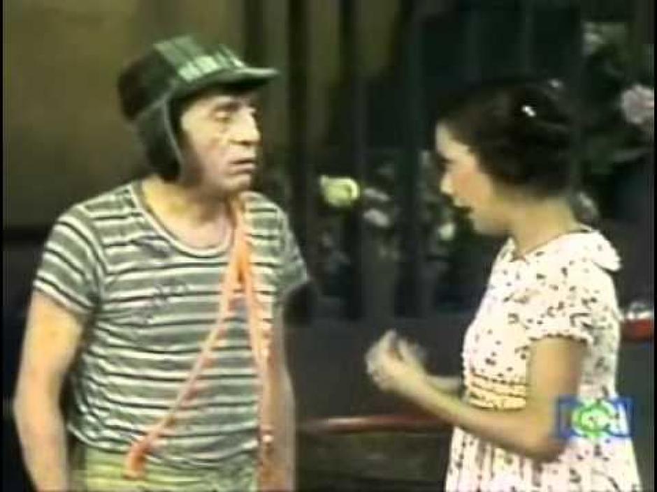 Patty y El Chavo y su corta historia en la serie El Chavo del 8. (Foto: T13)