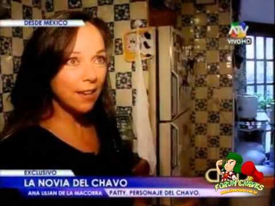 Así luce la Psicologa, Ana Lilian de La Macorra, Patty en el Chavo del 8. (Foto: Televisa)