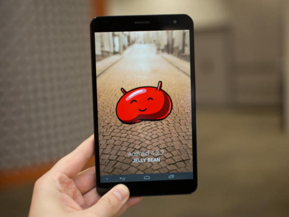 La Huawei MediaPad X1 se presenta como una tableta que actúa como teléfono. Mide 7 pulgadas y es ultradelgada (Foto: Cnet)
