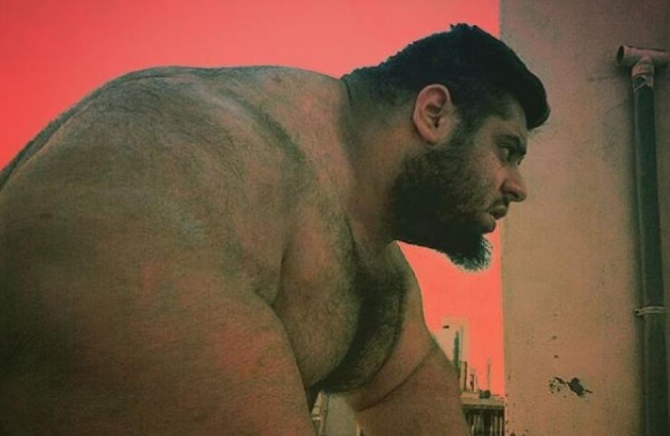 """El hombre de 24 años es llamado el """"Hulk"""" iraní. (Foto: eldiariony.com)"""