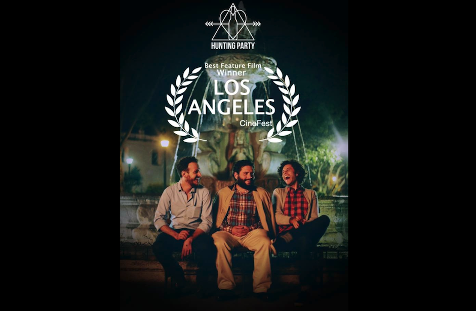 "La película guatemalteca ""Hunting Party"" recibe el premio a ""Mejor Largometraje de Ficción"" en ""Los Angeles Cinefest"". (Foto: Hunting Party)"