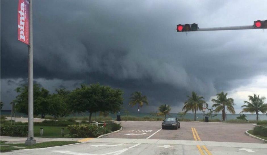 Así fue la llegada del huracán Matthew a Florida, Estados Unidos. (Imagen: ahoranoticias.cl)