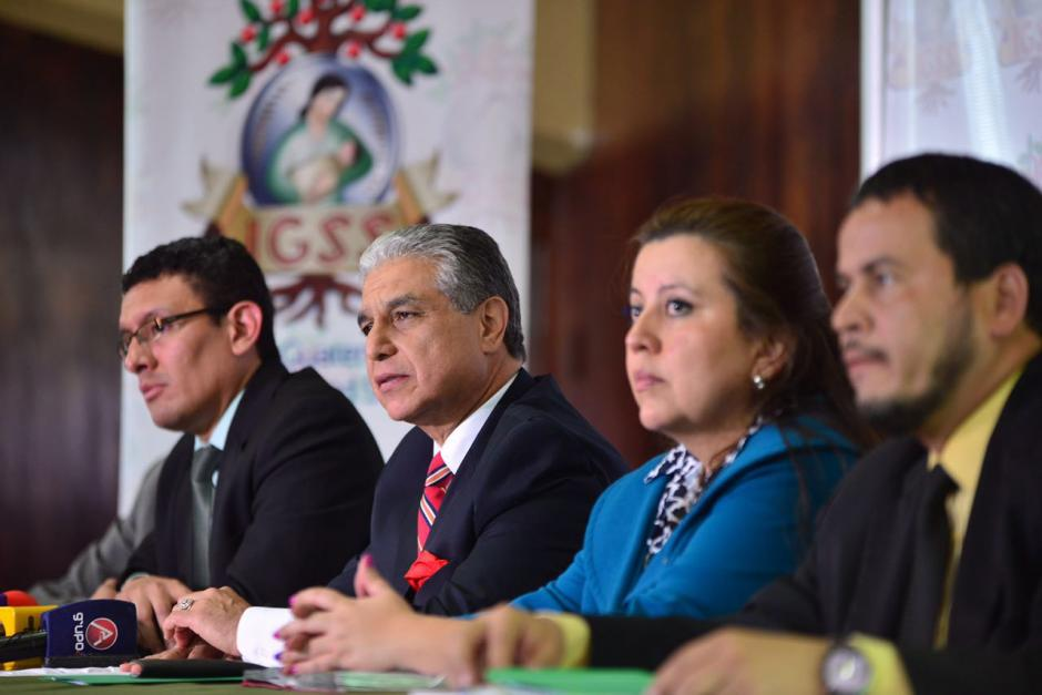 Las autoridades del IGSS informaron sobre el caso de corrupción. (Foto: Jesús Alfonso/Soy502)