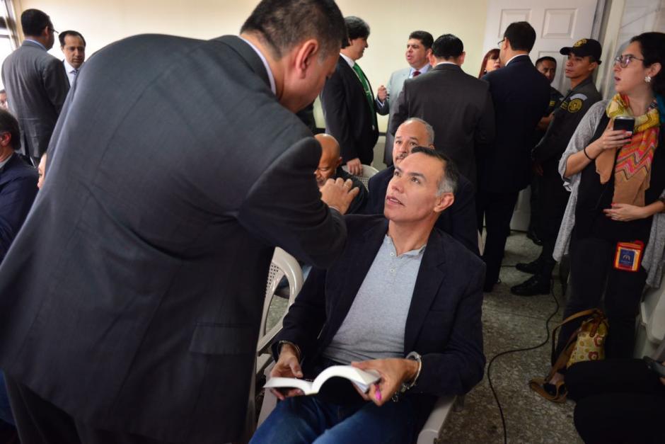 El expresidente del IGSS es uno de los acusados en el caso IGSS-Pisa. (Foto: Jesús Alfonso/Soy502)