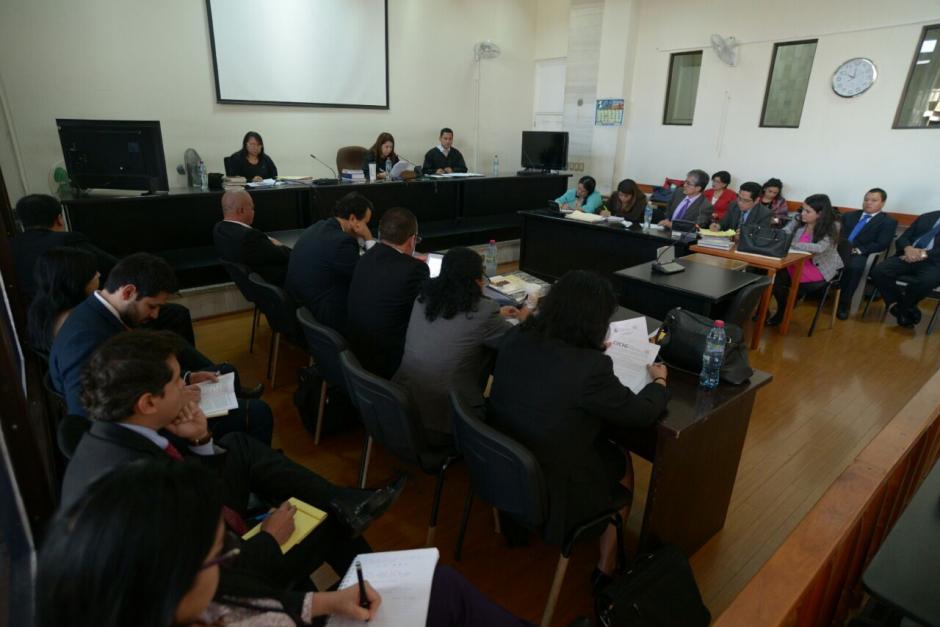 Este lunes se tiene previsto reinicie el juicio por el caso IGSS-Pisa. (Foto: Wilder López/Soy502)