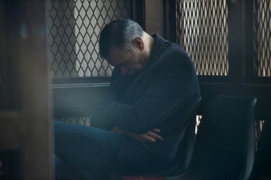 Juan de Dios, rezó previó al inicio del juicio. (Foto: Wilder López/Soy502)