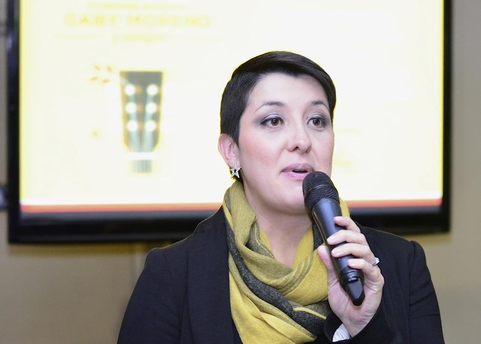 Diana Bonilla cuenta que este íntimo encuentro es a beneficio de FUNDAL. (Foto: Selene Mejía/Soy502)