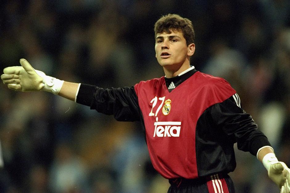 Iker Casillas debutó en la Champions el 15 de septiembre de 1999 con el Real Madrid