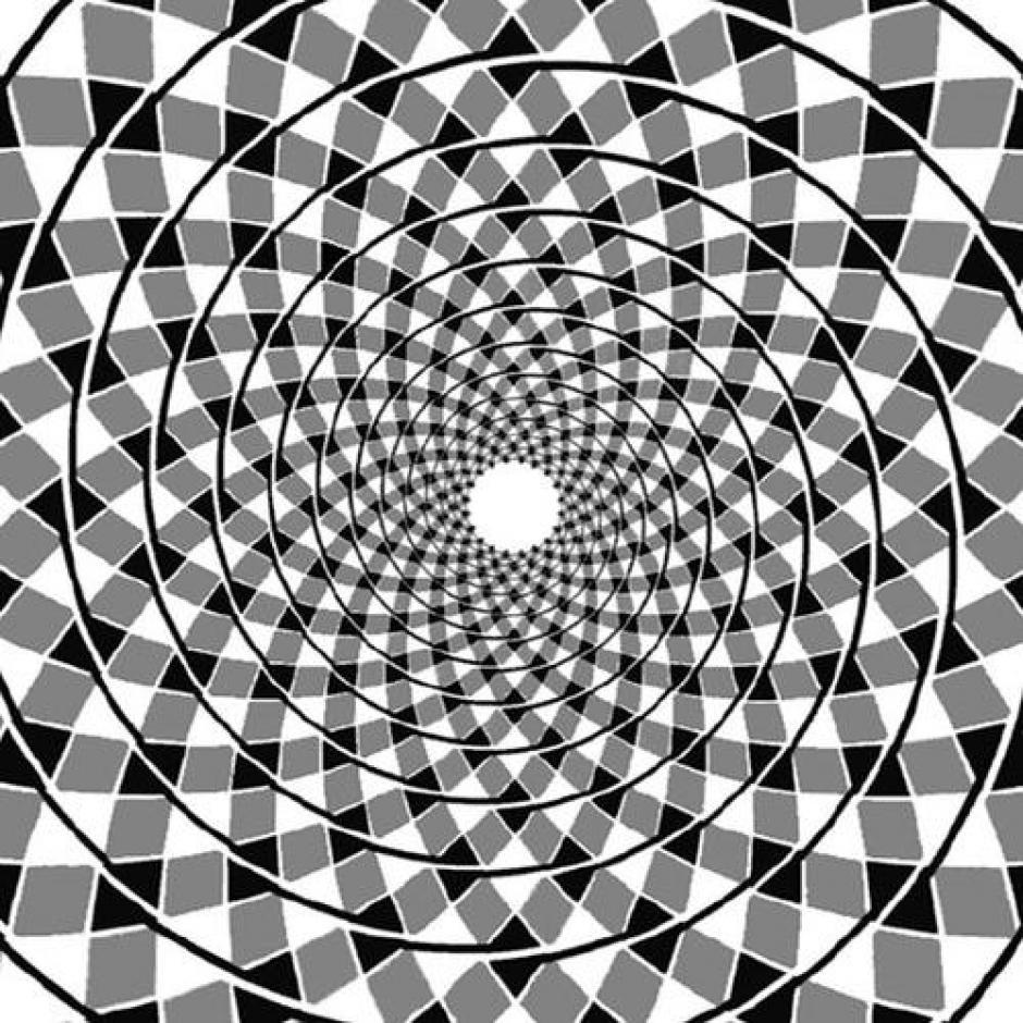 ¿Ves la espiral? ¿Estás seguro? (Foto: Diario de Nueva York)