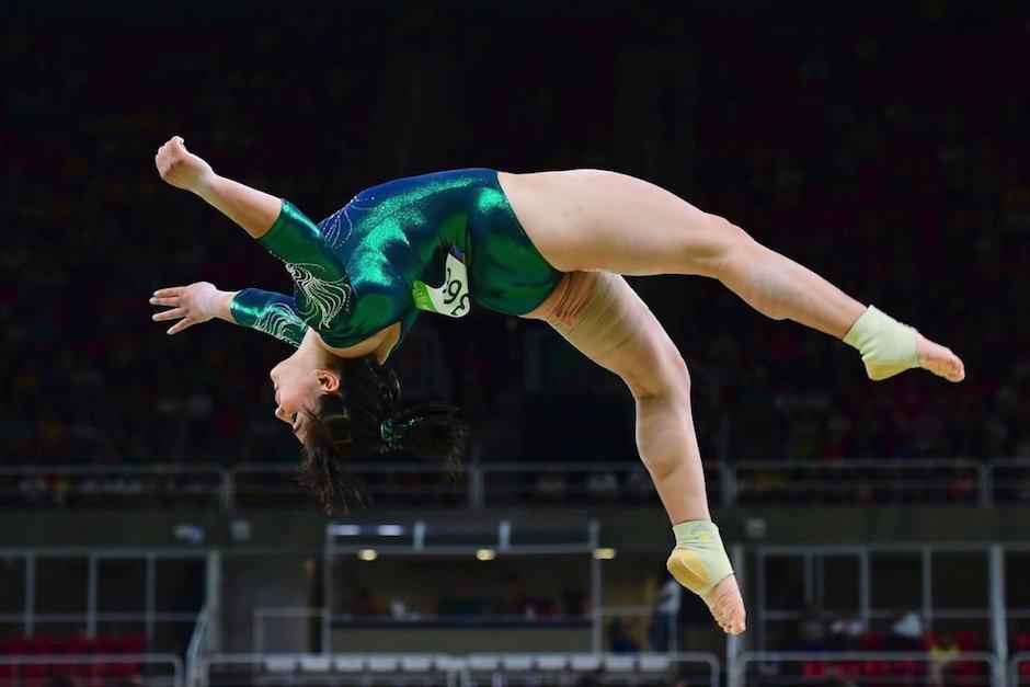 """El mensaje para la atleta es """"Tu cuerpo es perfecto"""". (Foto: www.recreoviral.com)"""