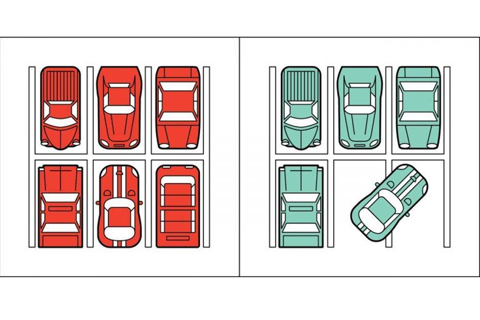 Unos son capaces de respetar las líneas, mientras otros no respetan las reglas. (Imagen: society6.com)