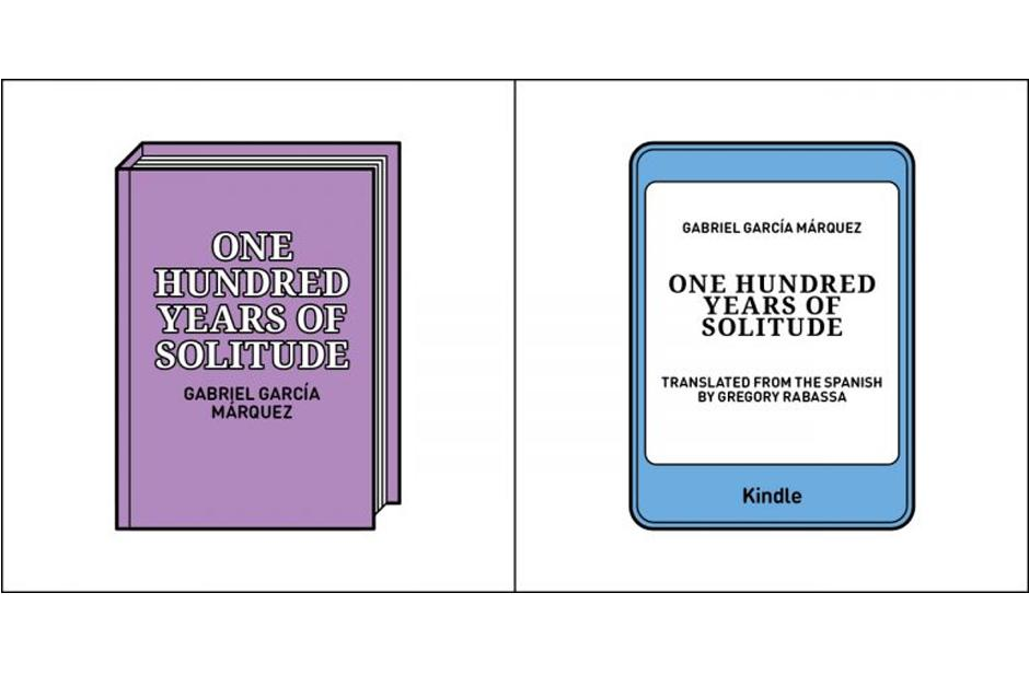 Algunos prefieren tener un libro impreso, otros prefieren hacerlo en línea. (Imagen: society6.com)