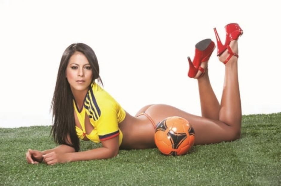 Alejandra Buitrago, la encantadora modelo que afirmó que Messi es colombiano.