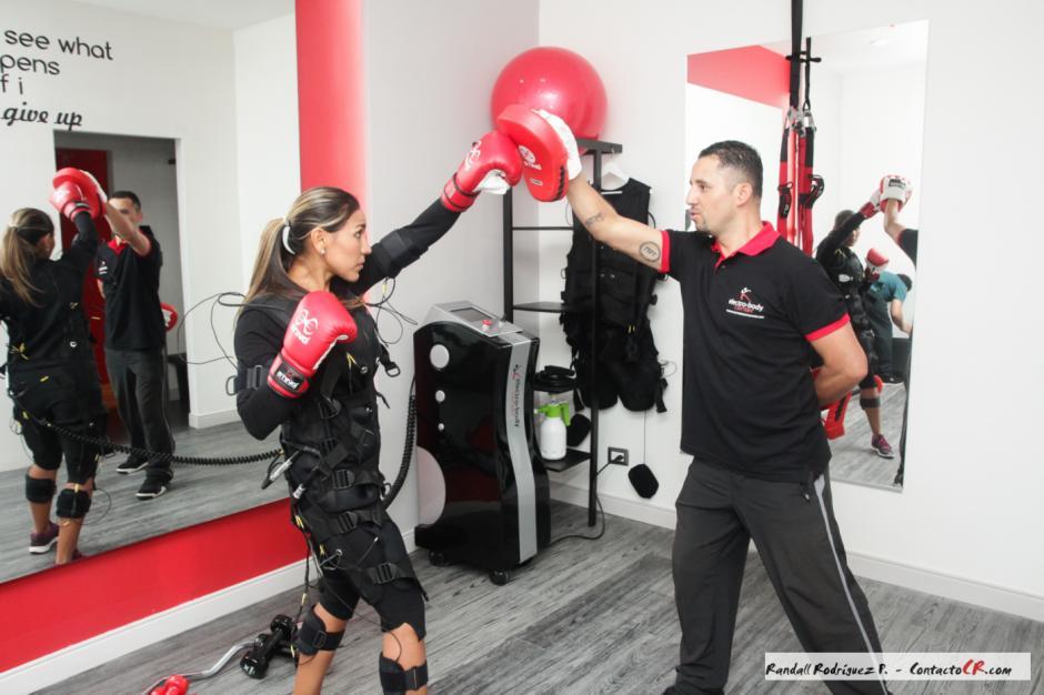 El negocio de Andrea Salas tiene que ver con el fitness. (Foto: Contactocr)