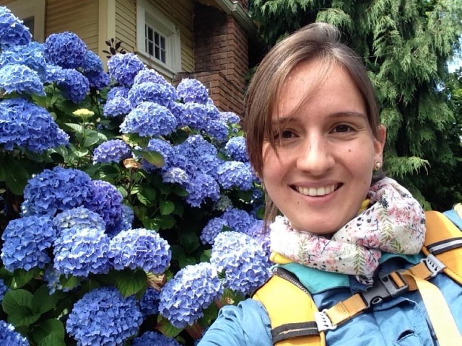 Ximena Gálvez es otra de las integrantes del proyecto, debido a que está cursando una maestría en Estados Unidos, no estuvo presente en la premiación de la semana pasada. (Foto: Ximena Gálvez)