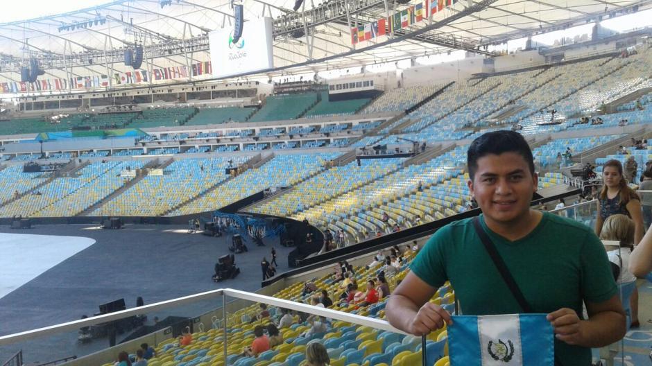 Manuel Antuche es el nombre de uno de los voluntarios guatemaltecos que estará en Río 2015. (Foto: Cortesía Manuel Antuche)