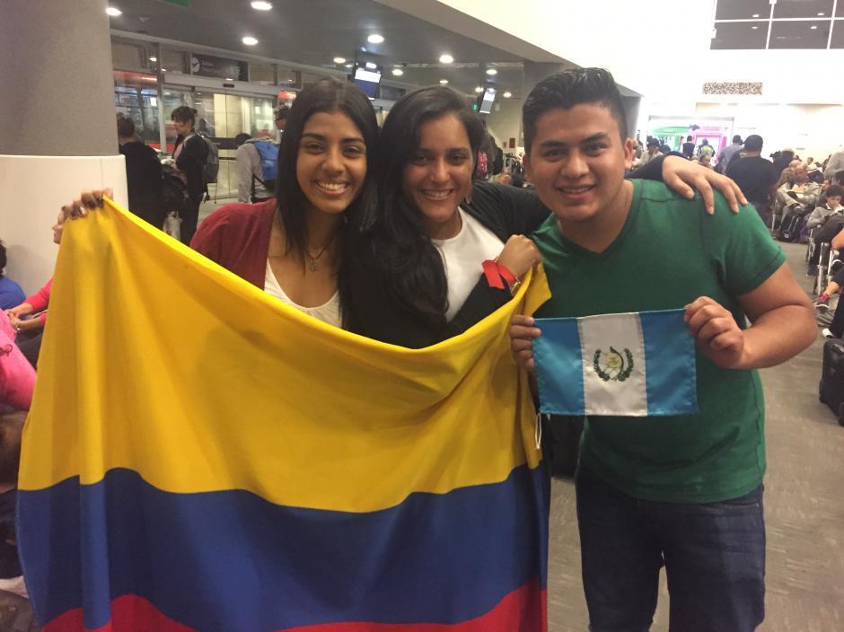 Manuel se quedó en Colombia 48 horas por problemas con su vuelo a Brasil. (Foto: Aldo Martínez/enviado especial de Nuestro Diario)