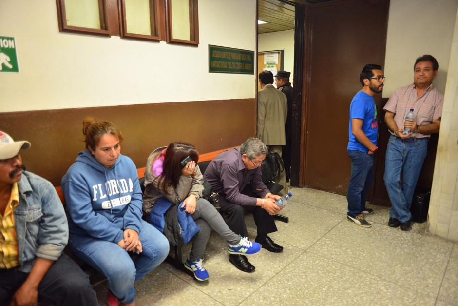 Los cinco señalados conocerán el motivo de su detención en las próximas horas. (Foto: Jesús Alfonso/Soy502)