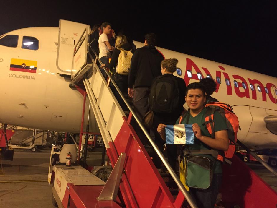 El joven guatemalteco ya estuvo presente en los Juegos Panamericanos de Toronto 2015. (Foto: Aldo Martínez/enviado especial de Nuestro Diario)