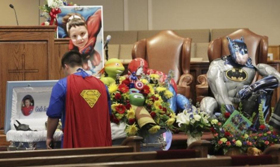 Jacob murió tras ser víctima de un tiroteo en su escuela, en Estados Unidos