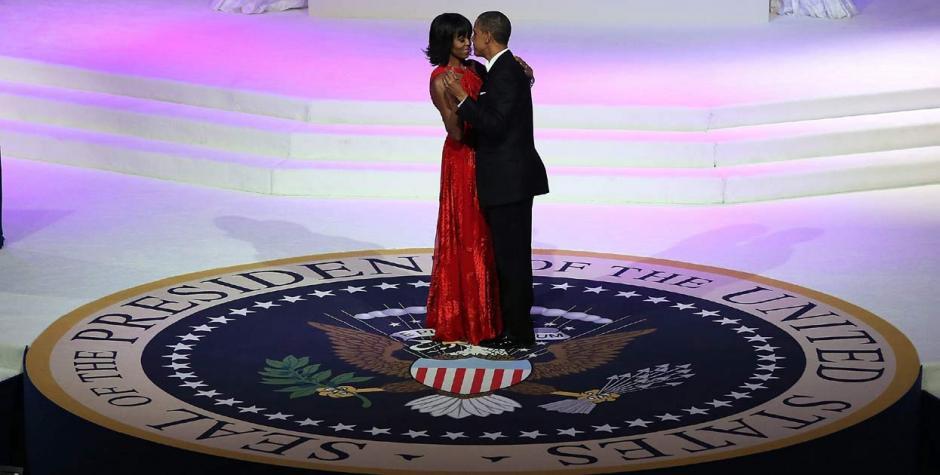 """En 2013 """"Let´s stay together"""" fue la canción para el primer baile presidencial. (Foto: El Tiempo.com)"""