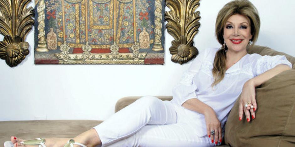La colombiana Virginia Vallejo mantuvo una relación estrecha con el narcotraficante Pablo Escobar. (Foto: Twitter)