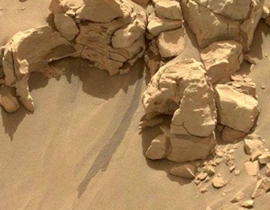 Una imagen captada en Marte. (Foto: express)