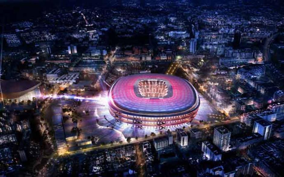 Imponente lucirá el nuevo Camp Nou. (Foto: Sport)
