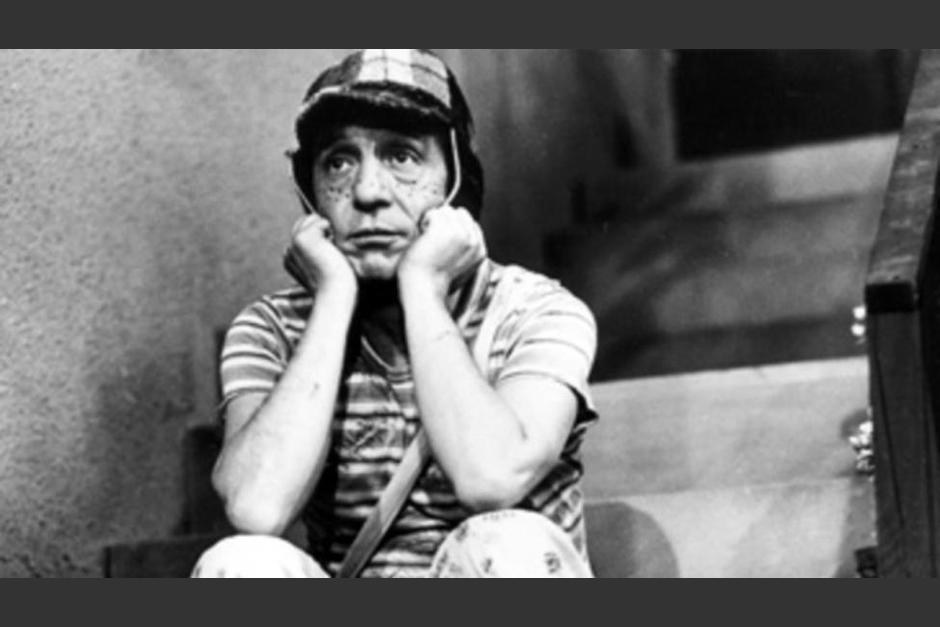 """El Chavo del 8"" aseguró que no conoció a su padre. (Foto: Twitter)"