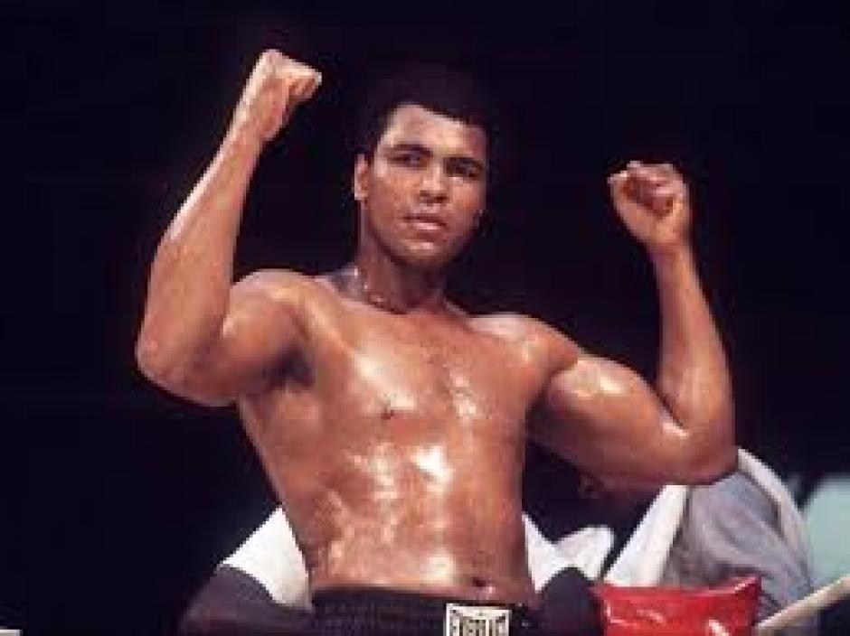 El poder de los puños de Muhammad Ali era poderoso. (Foto: BBC)