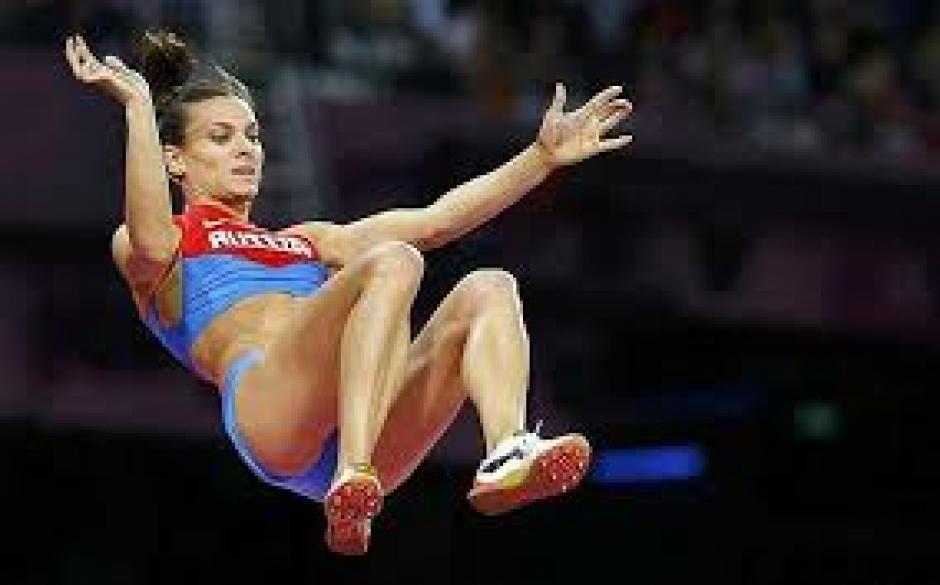 La atleta rusa es la deportista rusa más conocida en el mundo. (Foto: EFE)