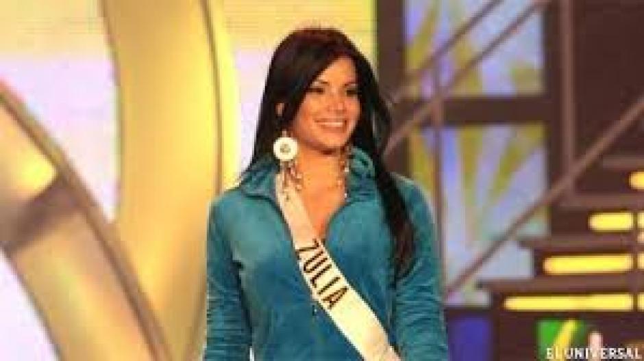 En 2008 representó al estado Zulia en Miss Venezuela. (Foto: Twitter)