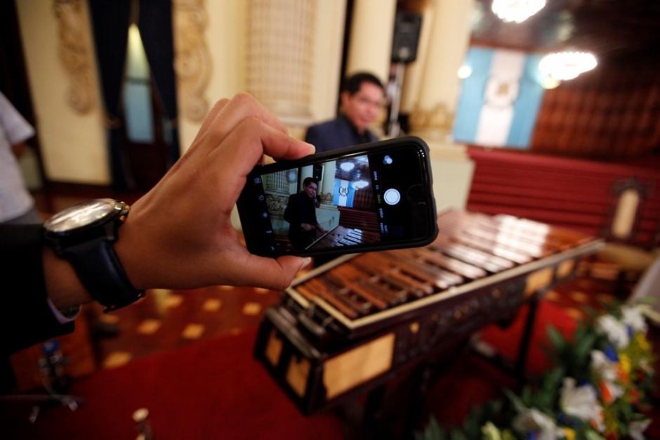 El Ministerio de Cultura y Deportes quiere que el mundo sepa que el ringtone del iPhone es con sonidos de la marimba guatemalteca. (Foto: Gobierno de Guatemala)
