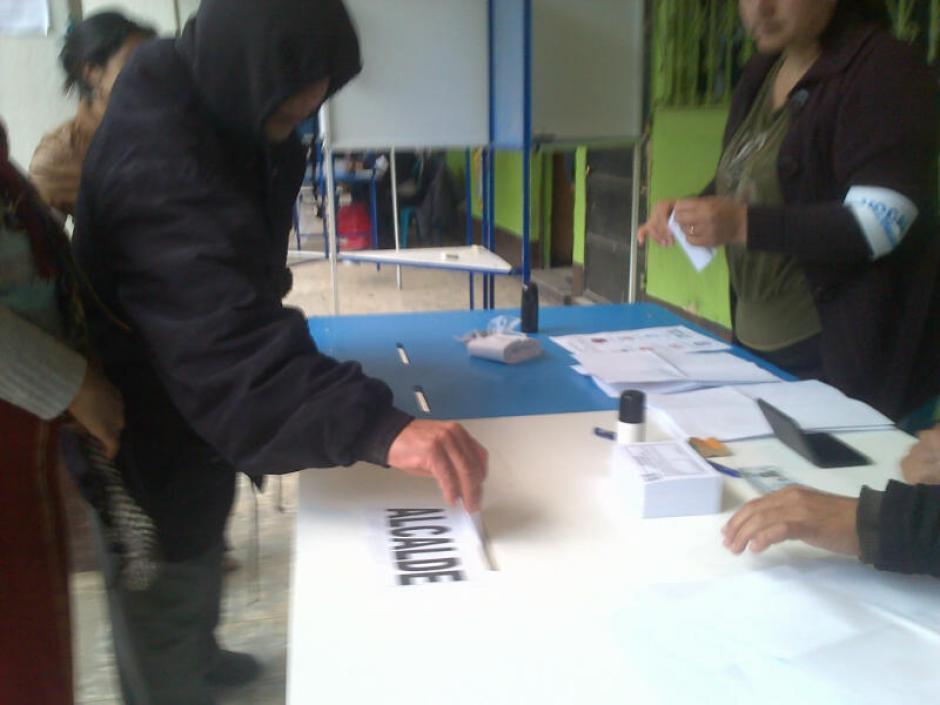 La repetición de las elecciones municipales en Santa María Nebaj, Quiché, ya está en proceso.(Foto: Edgar López/ Nuestro Diario)