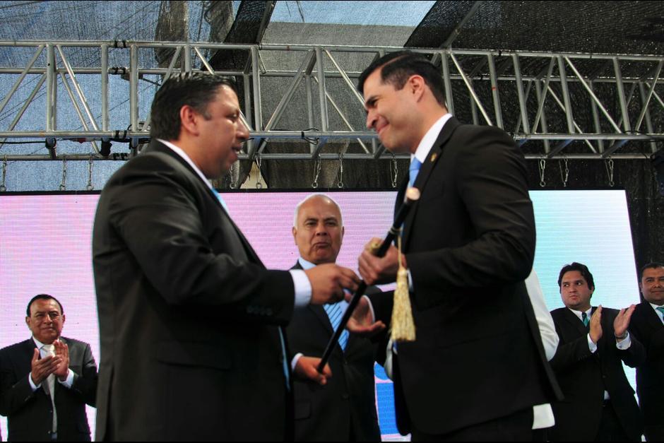 El alcalde mixqueño se muestra activo en redes sociales en todo momento. (Foto: Archivo/Soy502)