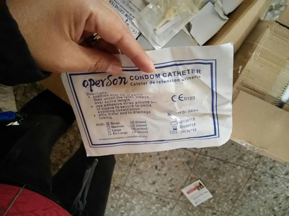 Dentro de la donación de medicamentos e insumos para elHospital Nacional de Huehuetenangoincluyeronaros sin lentes(Foto: PDH)