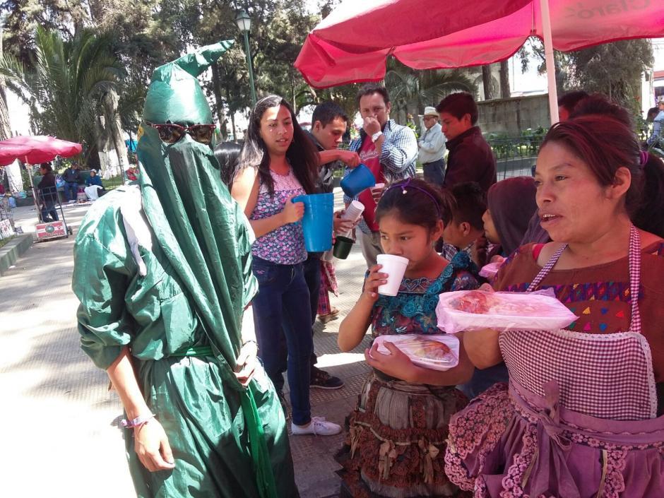 El objetivo de los sancarlistas es cambiar la manera en que son vistos por la sociedad. (Foto: Martín Calderón/Stereo 100 Xela)