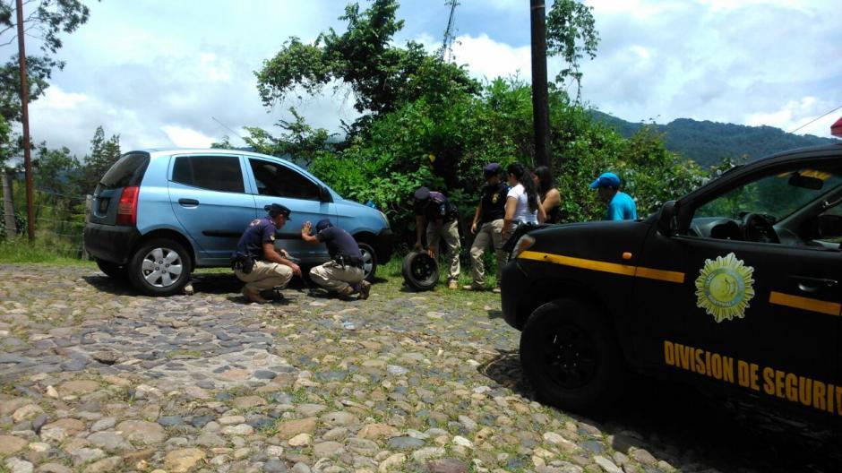 El Ministerio de Gobernación junto con la PNC y la Politur realizaron acompañamientos en caravana desde las fronteras. (Foto: Inguat)