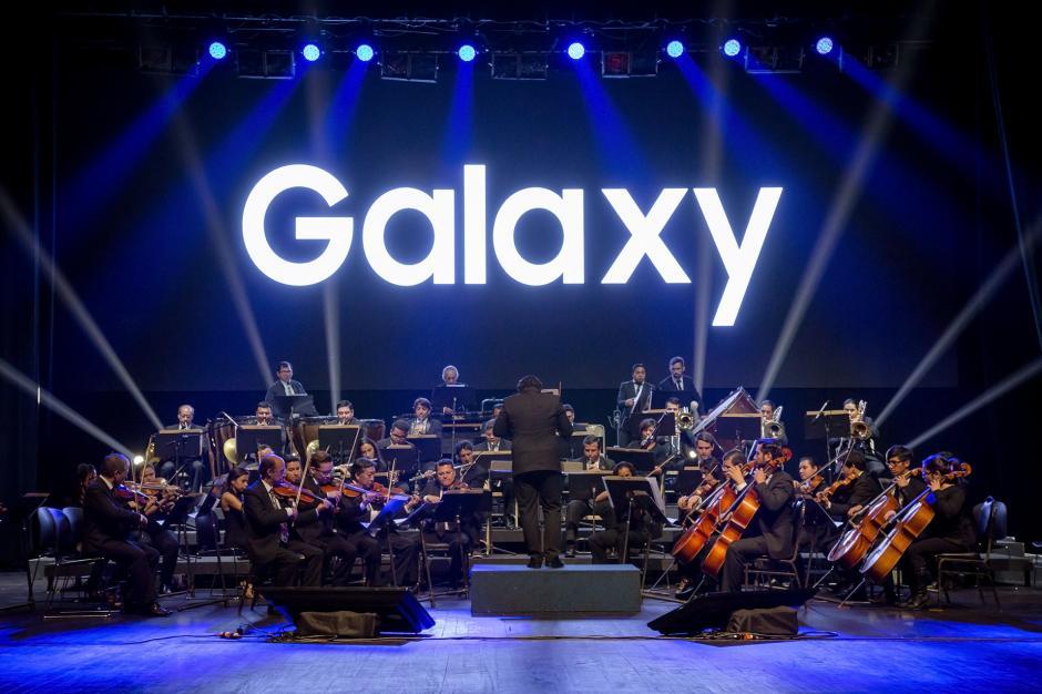 La presentación de los nuevos dispositivos Samsung contó con la participación de la Orquesta Sinfónica Nacional. (Foto: Eddie Lara /Soy502)
