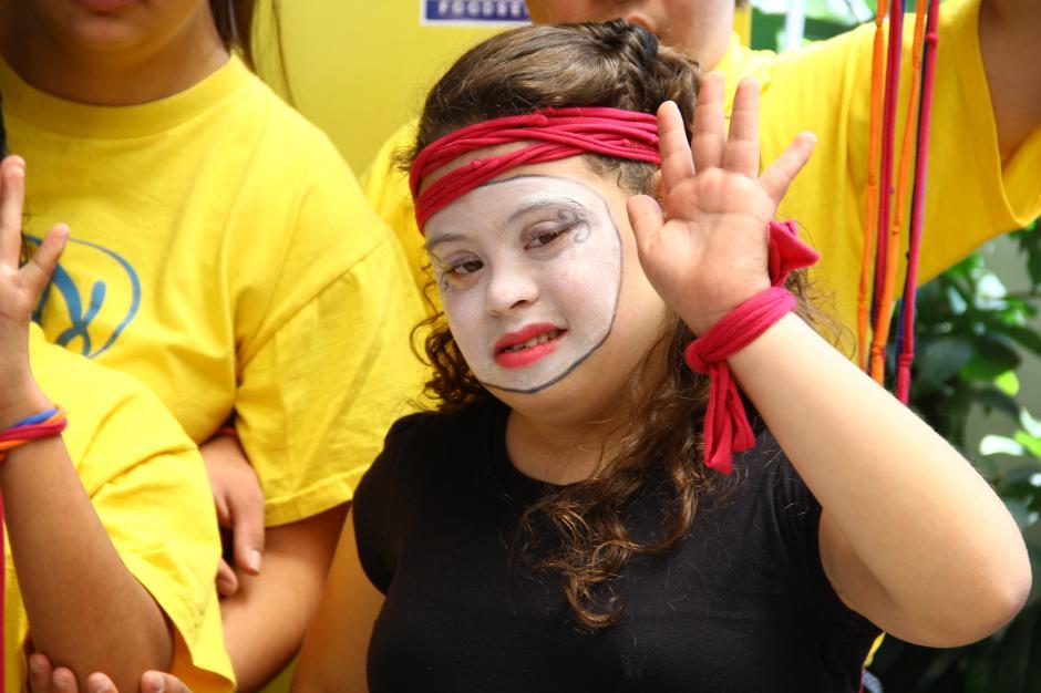 Los fondos de las inscripciones servirán para apoyar a más de 450 niños y jóvenes con Síndrome de Down.(Foto: Fredy Hernández/Soy502)