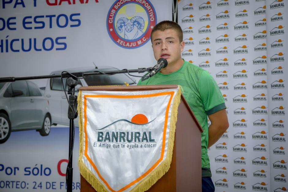 Jefferson Dubón, con tan sólo 15 años, miembro de las fuerzas básicas de Xelajú M.C.(Foto: George Rojas / Soy 502)