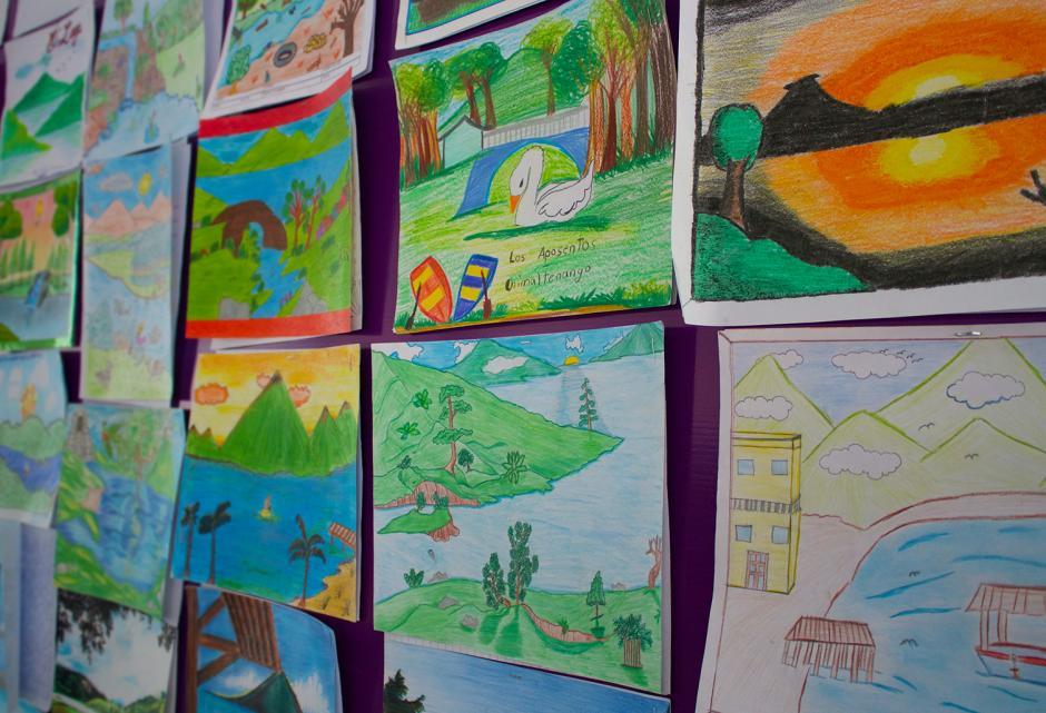 Se presentaron 95 mil dibujos de los distintos departamentos del país. (Foto: Soy502)