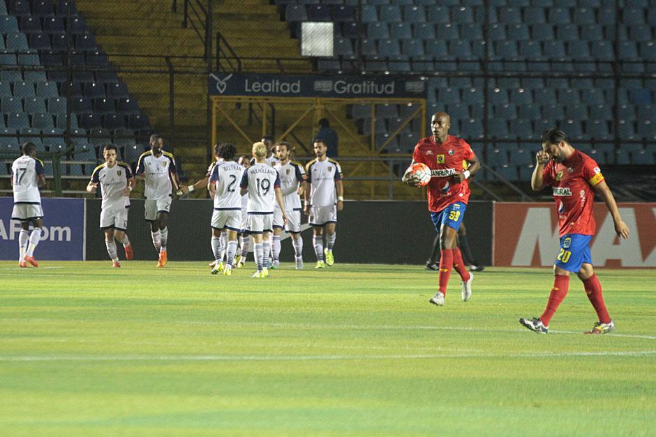 Municipal inició el juego con un 1-0 adverso desde el minuto dos del primer tiempo ante el Real Salt Lake. (Foto: José Dávila/Soy502)