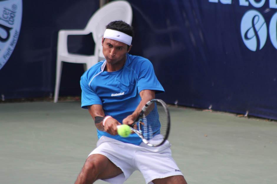 Christopher Díaz es el único representante guatemalteco en el torneo futuro Gatorade Open