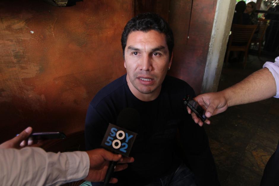 Salvador Cabañas en entrevista con Soy502. (Foto: Wilder López/Soy502)